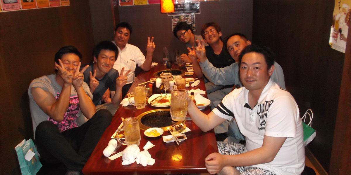 諏訪市の電気工事員の懇親会